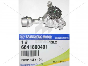 ФОТО Масляный насос 2.0 XDI D20DT SSANGYONG ACTYON 06-13,KYRON 05-11,ACTYON SPORTS 06-12 SsangYong Actyon 2006-2013